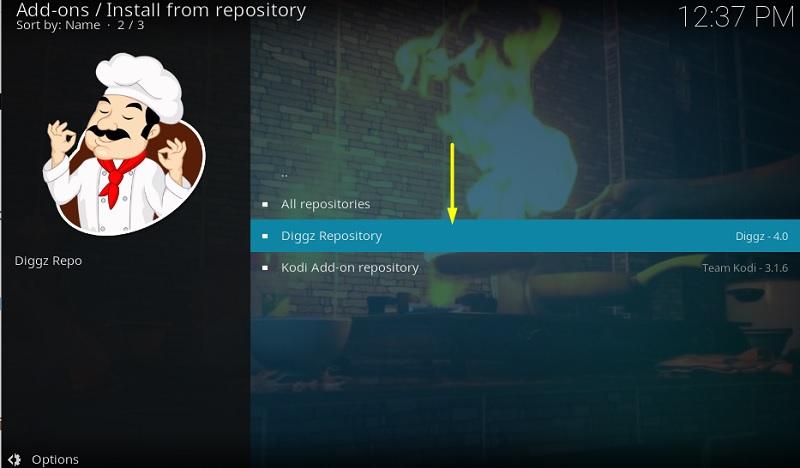 install Diggz Repository