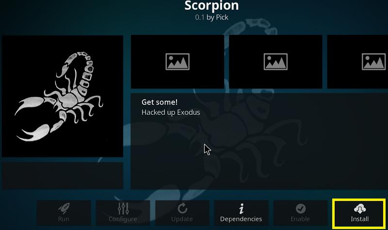 Scorpion addon