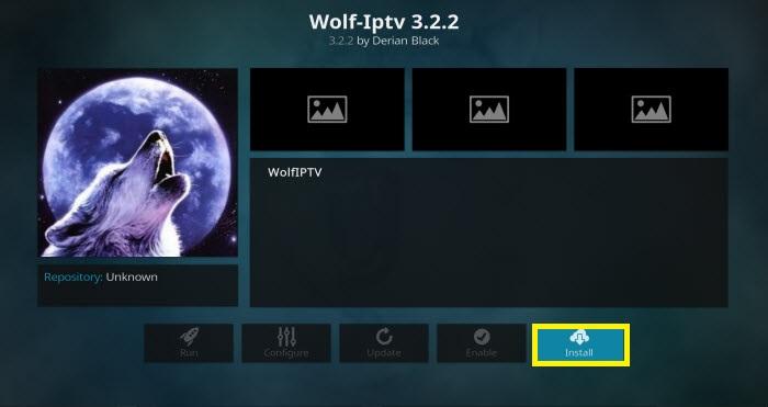 Wolf IPTV Addon