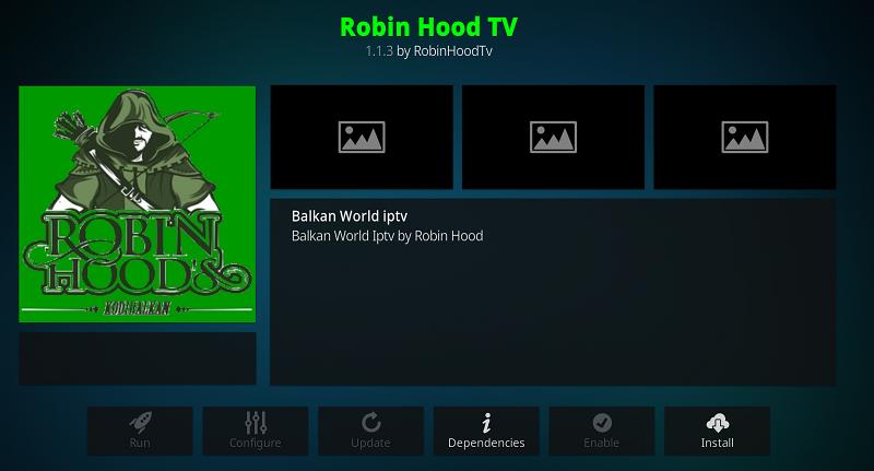 Robin Hood Addon