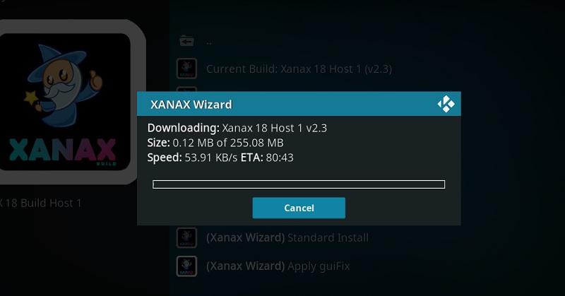 download xanax kodi build