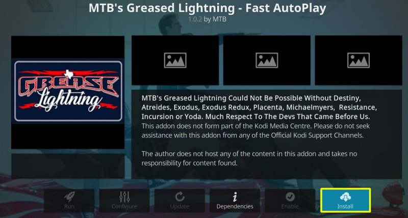 Greased Lightning Addon