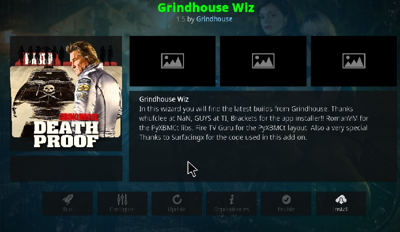 install grindhouse wizard
