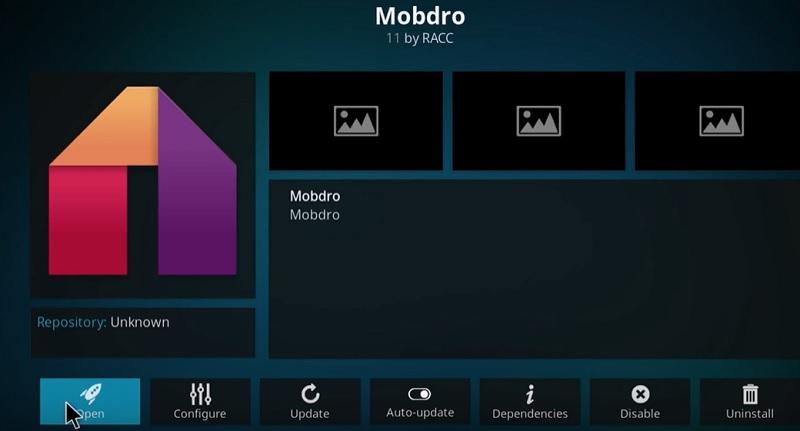 live tv on kodi via mobdro