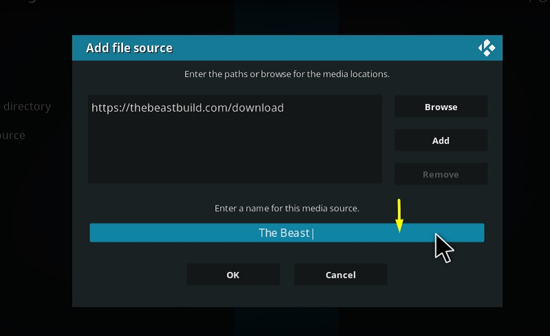 how to download the beast on kodi